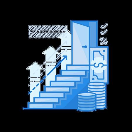 Finance Goal Illustration