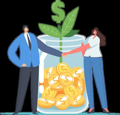Finance Help Illustration