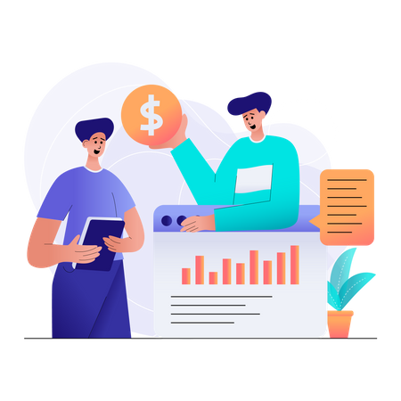 Finance Planning Illustration