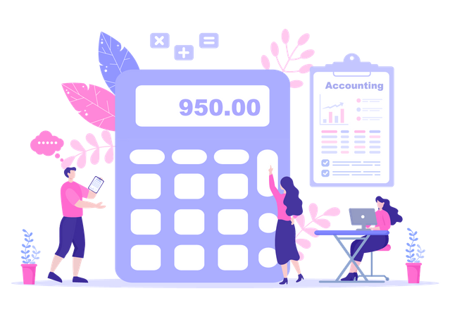 Finance Statement Illustration