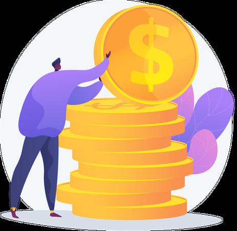 Finances Management Illustration