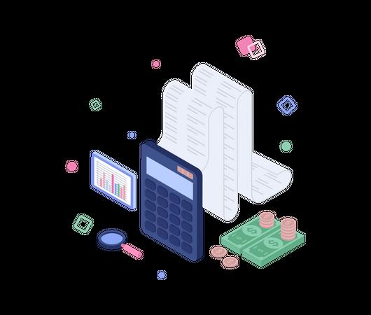 Financial accounting Illustration