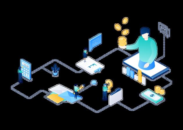 Financial Advisor Illustration