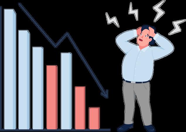 Financial crisis Illustration