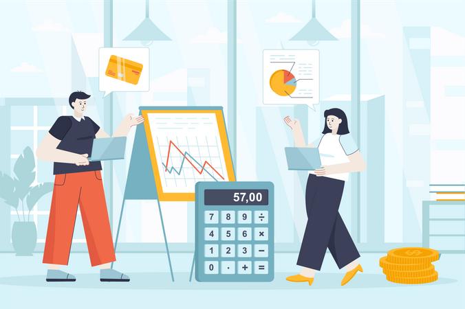 Financial management Illustration