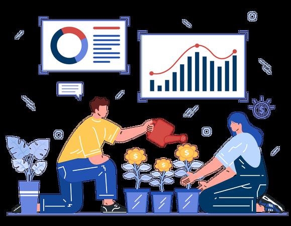 Financial Planning Illustration