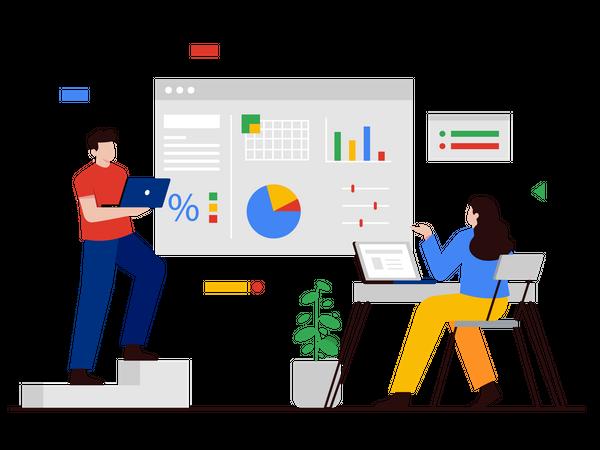 Financial Presentation by Employer Illustration