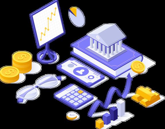 Financial studies Illustration