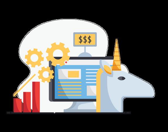 Financial success Illustration