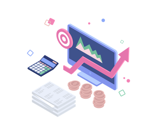 Financial target Illustration