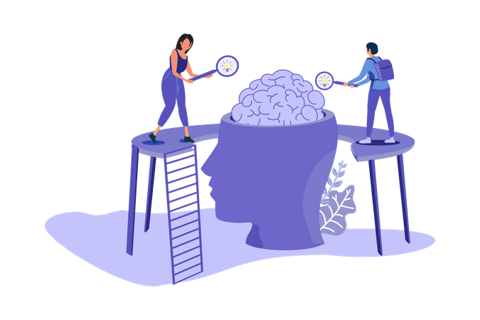 Find Business Ideas Illustration