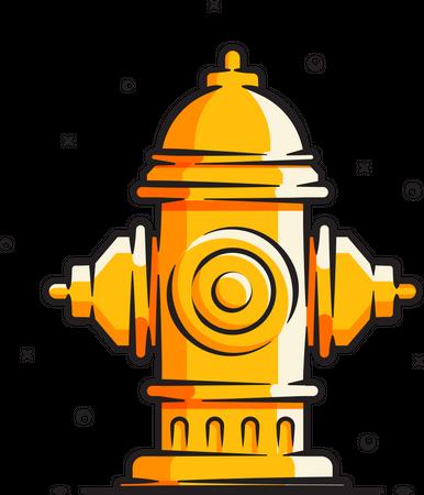 Fire hydrant Illustration