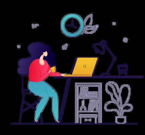 Freelance work Illustration