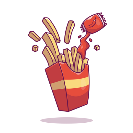 French-fries Illustration