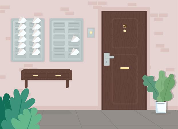 Full mail Illustration