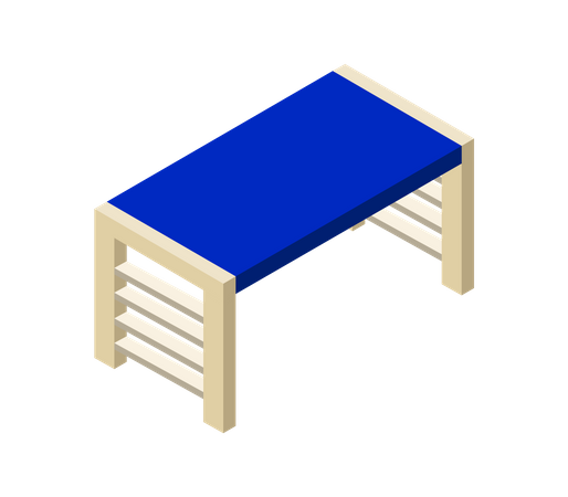 Furniture table Illustration