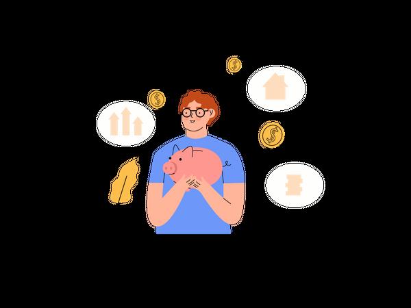 Future savings Illustration