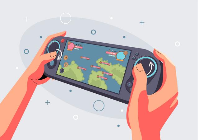 Gaming board Illustration