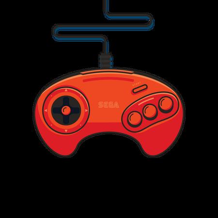 Gaming pad Illustration