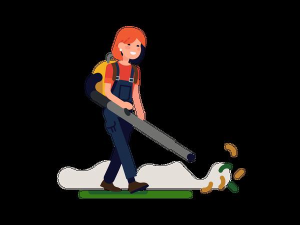 Gardener Illustration