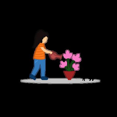 Gardening Illustration