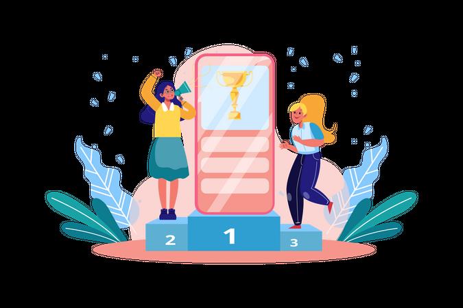 Get Reward of referral programs Illustration