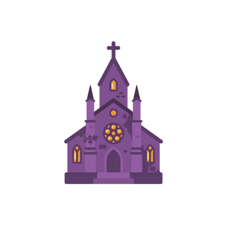 Ghost Chapel Illustration