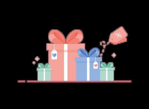 Gifts Illustration