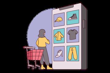 E-Commerce Illustration Pack