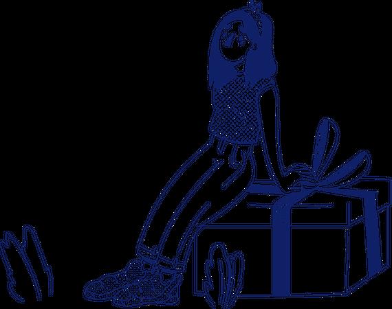 Giveaway Illustration