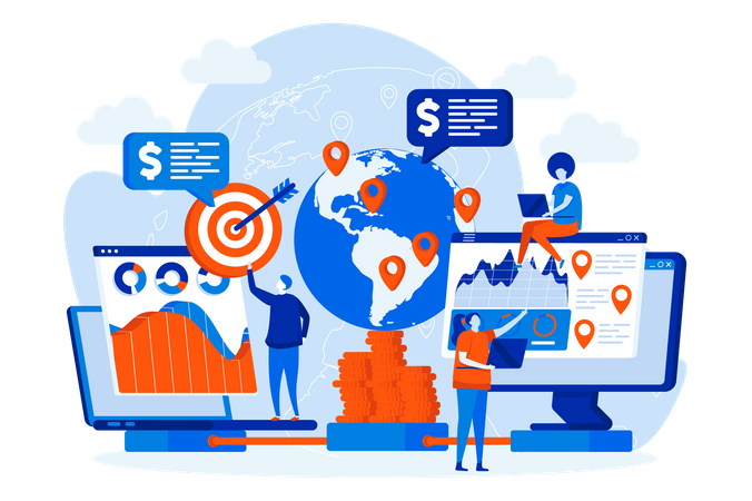 Global business Illustration