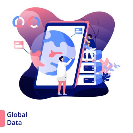 Global Data Illustration