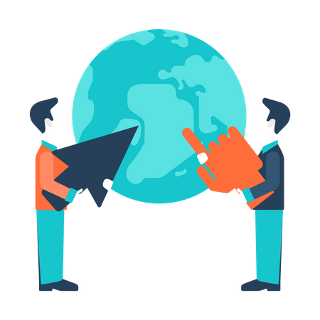 Global development Illustration