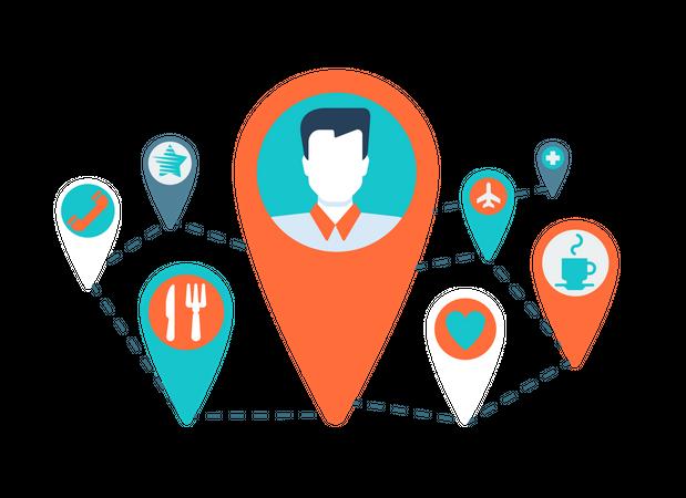 Global Marketing Illustration