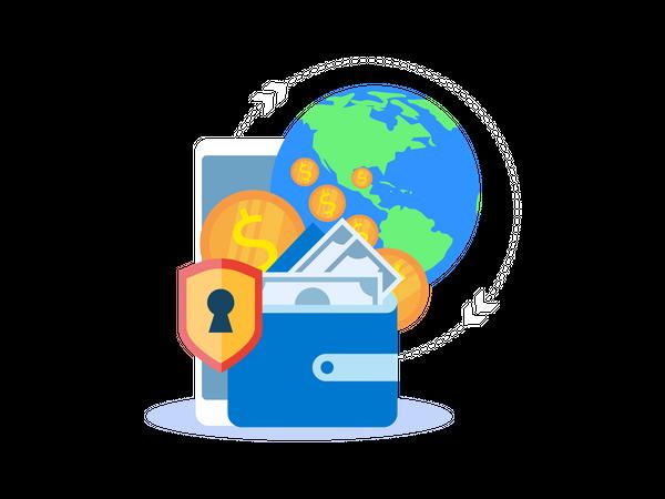 Global Payment Illustration