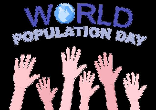 Global Population Day Illustration