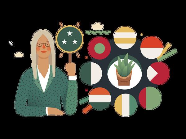 Global Summit Illustration