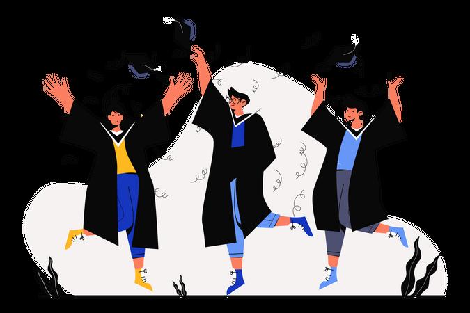 Graduation Illustration