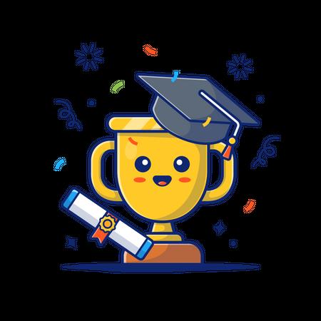 Graduation award Illustration