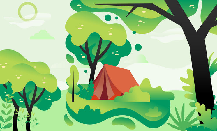Greenery Illustration