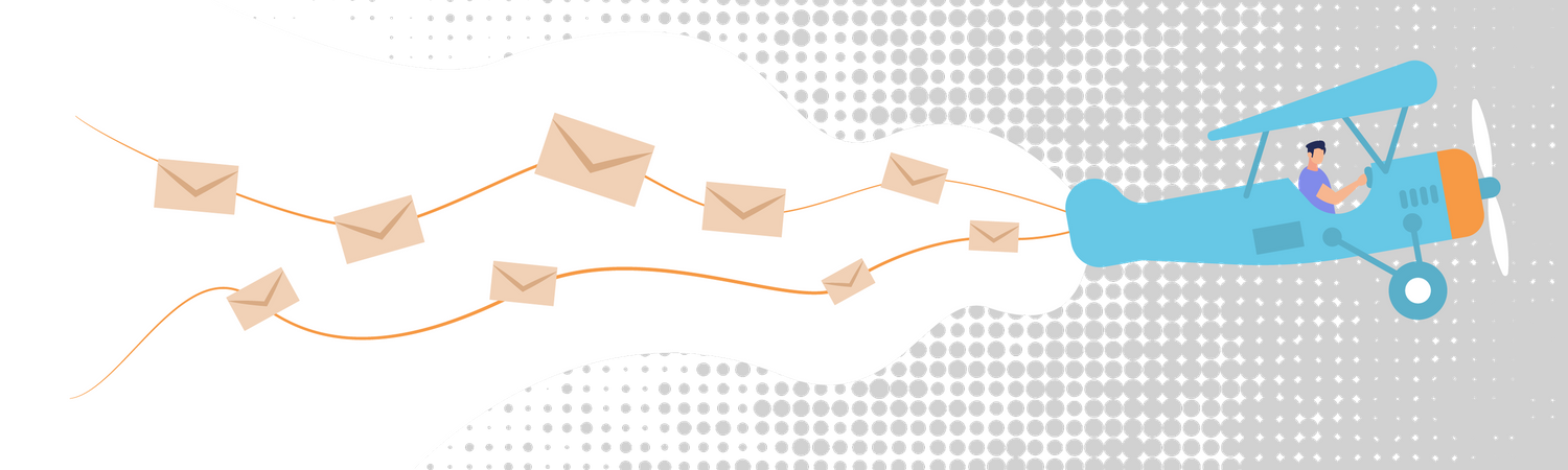 Group Mailing and Spam Illustration