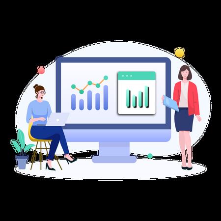 Growth Analysis Illustration