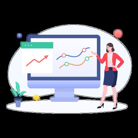 Growth Presentation Illustration