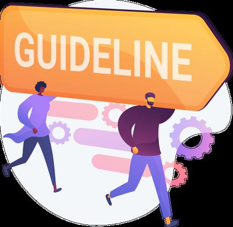 Guideline and Regulation Illustration