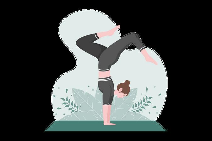 Gym trainer Illustration
