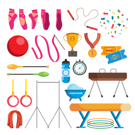 Gymnastic Accessories Illustration