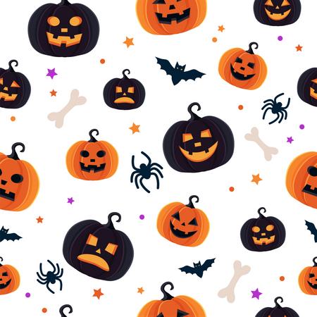 Halloween pattern Illustration