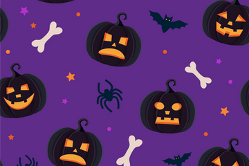 Halloween Pattern Illustration Pack