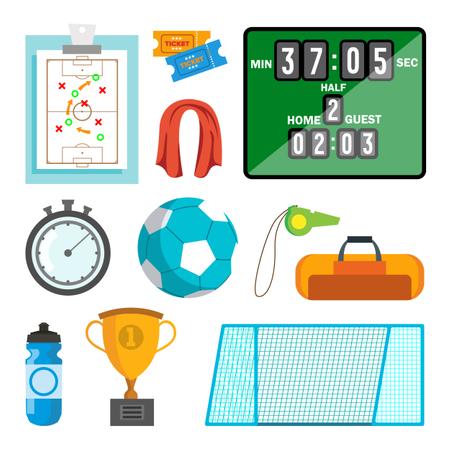 Handball Accessories Illustration