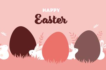 Happy Easter Sale Illustration Pack